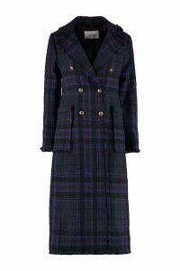 Jucca Wool Blend Tweed Coat