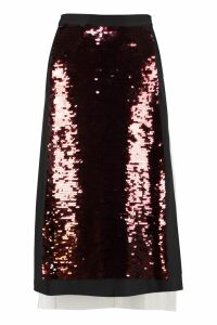 McQ Alexander McQueen Sequin Pencil Skirt