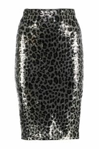 MICHAEL Michael Kors Sequin Pencil Skirt
