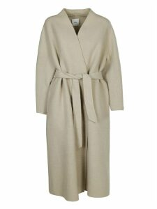 Agnona Belted Long Length Coat