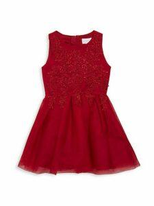 Little Girl's & Girl's Sleeveless Dress