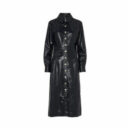 Kitri Charlie Mock Croc Midi Dress