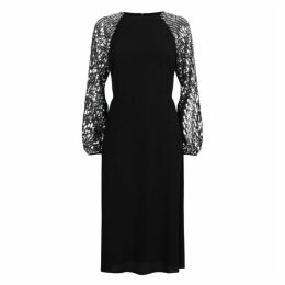 Traffic People The Blame Sequin Maxi Dress In Black