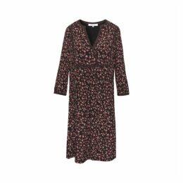 Gerard Darel Straight-cut Panelled Dolly Dress
