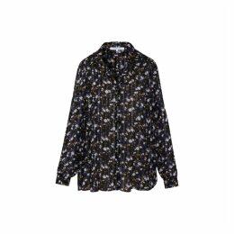 Gerard Darel Muslin Floral Print Marlon Shirt