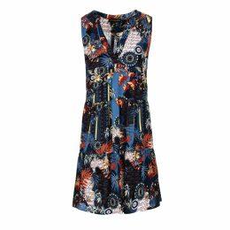 Mirimalist - Ff Black Neon Midi Skirt