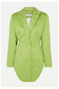 Lado Bokuchava - Satin Blazer - Lime green