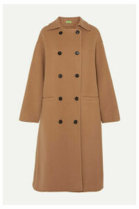 GAUGE81 - Oslo Double-breasted Wool-blend Coat - Camel