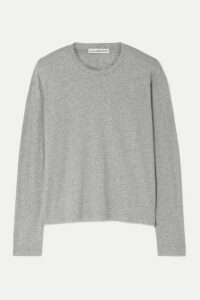 James Perse - Cotton-jersey Top - Gray