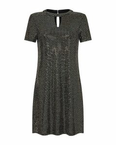 Yumi Curves Sparkle Sequin Tunic