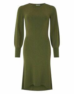Monsoon Lindie Elliptical Hem Dress