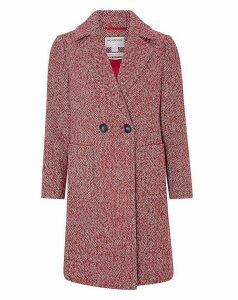 Monsoon Esme Herringbone Coat