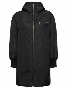 Prada Nylon padded parka coat - Black