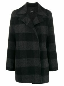 Theory check short coat - Black