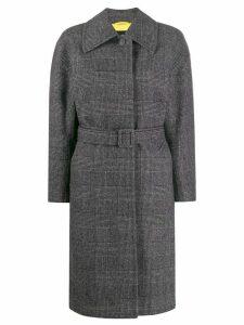 Ienki Ienki oversized belted coat - Grey