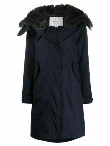 Woolrich hooded parka - Blue