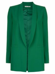 Alice+Olivia Kylie shawl collar blazer - Green