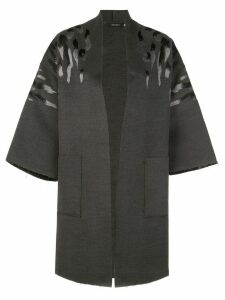 Natori felted oversized coat - Grey