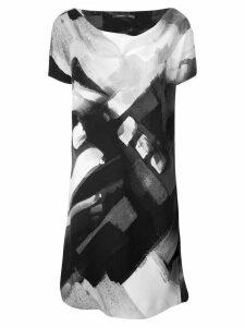 Natori printed dress - Black