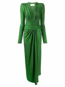Alexandre Vauthier rhinestone embellished dress - Green