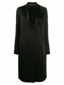 Transit shawl collar coat - Black