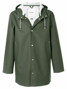 Stutterheim Stutterheim hooded coat - Green