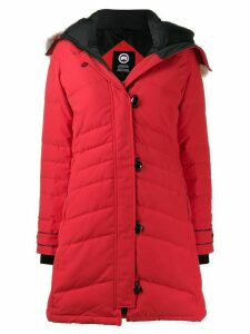 Canada Goose button padded coat - Red