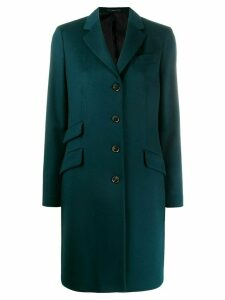 Paul Smith single breasted coat - Blue