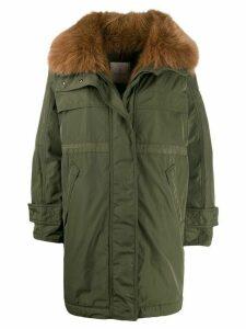Moncler Lagopede parka coat - Green