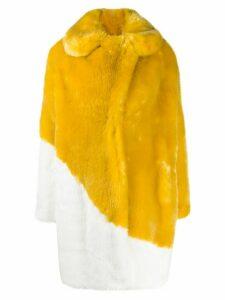 La Seine & Moi Aurore coat - Yellow