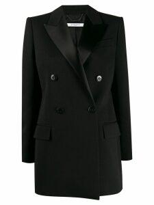 Givenchy satin lapels double-breasted blazer - Black