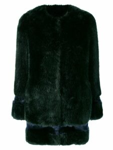 La Seine & Moi Petra faux fur coat - Green