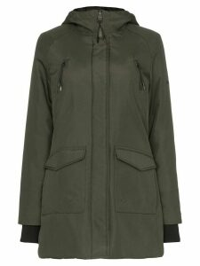 Norden Technical insulating hooded parka - Green
