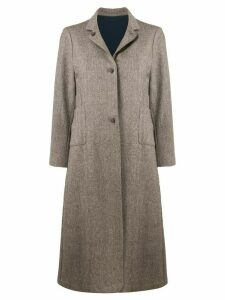 Daniela Gregis single-breasted coat - Brown