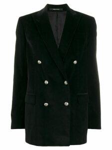 Tagliatore Jasmine velvet blazer - Black