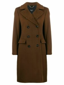 Paltò double breasted coat - Brown