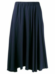 Plantation flared midi skirt - Blue