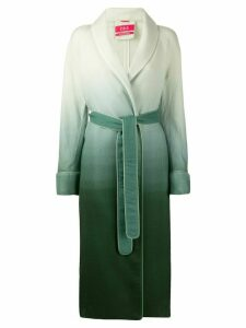 F.R.S For Restless Sleepers ombré-effect long coat - Green