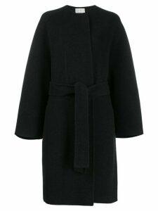 The Row boxy fit textured coat - Grey