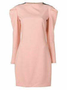 Victoria Victoria Beckham puff sleeve dress - PINK