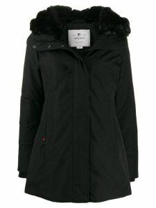 Woolrich Bow Bridge hooded parka coat - Black