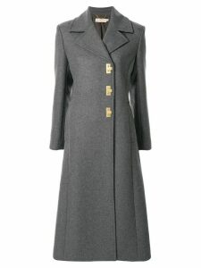 Tory Burch fitted toggle coat - Grey