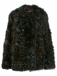 Sies Marjan Pippa Tigrado shearling coat - Brown
