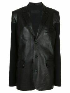 Haider Ackermann single breasted blazer - Black