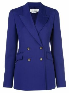 Gabriela Hearst double-breasted blazer - Blue