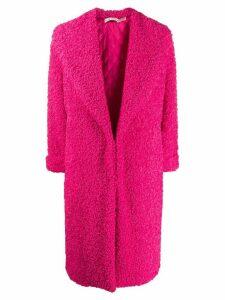 Alice+Olivia oversized textured coat - PINK