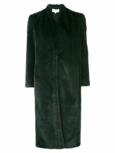 Michelle Mason oversized longline coat - Green