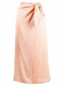 Nanushka Sarong skirt - PINK