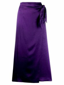 Nanushka Sarong skirt - PURPLE