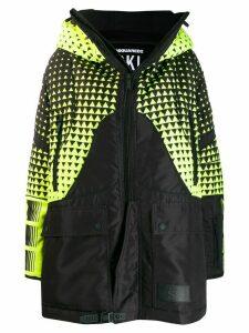 Dsquared2 oversized ski coat - Black